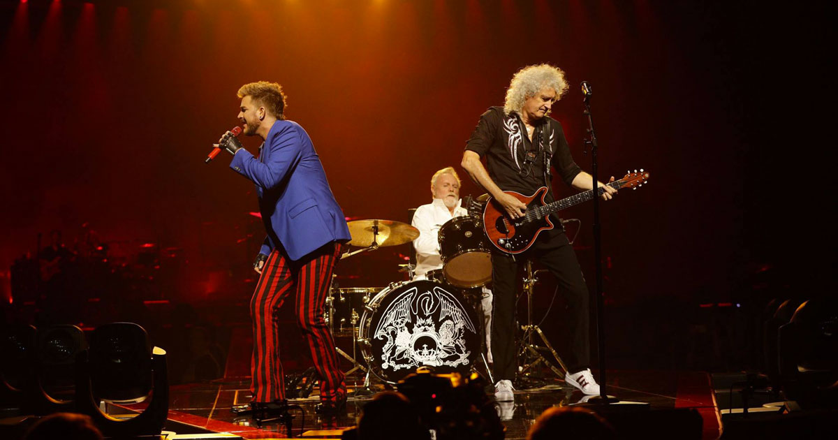 Il nuovo tour dei Queen con Adam Lambert passerà dall'Italia