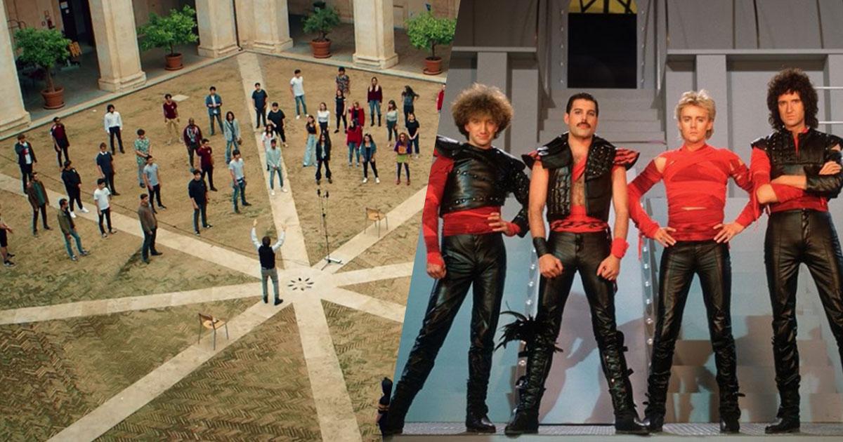 Il video girato dai ragazzi dei licei di Roma sulle note dei Queen è energia pura