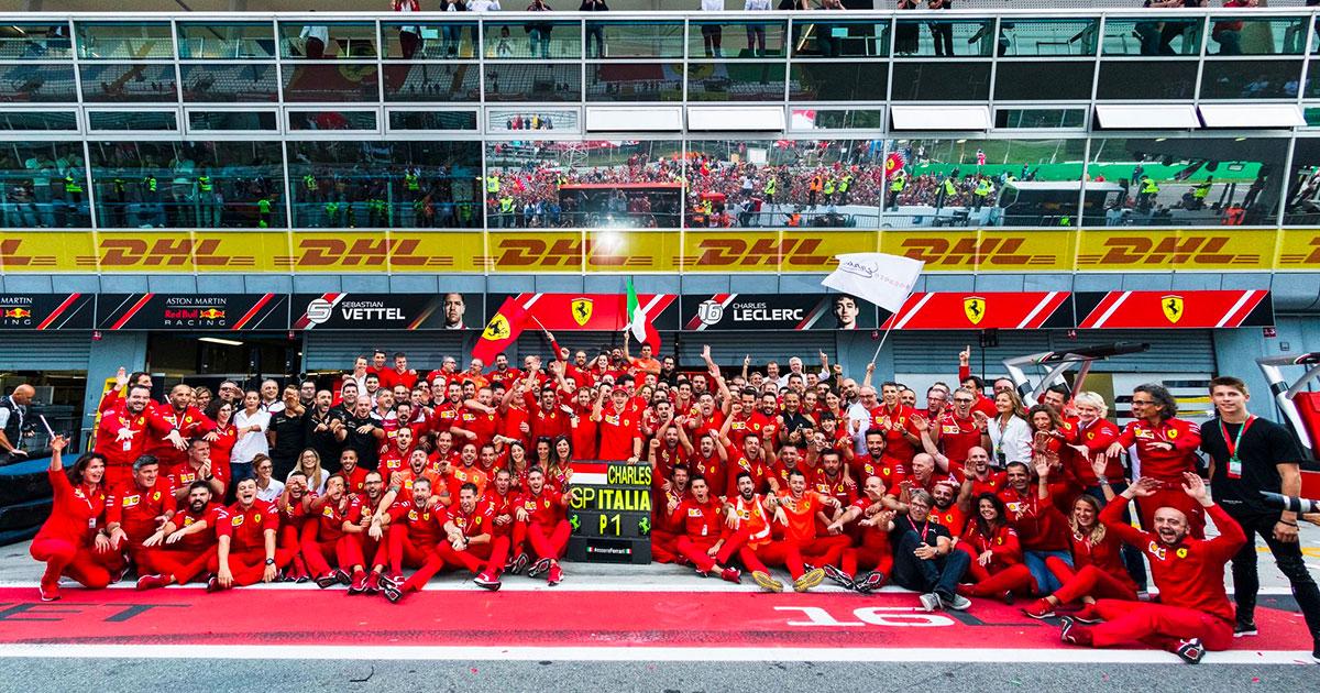 Ferrari 90: la grande festa a Monza con le Frecce Tricolori!