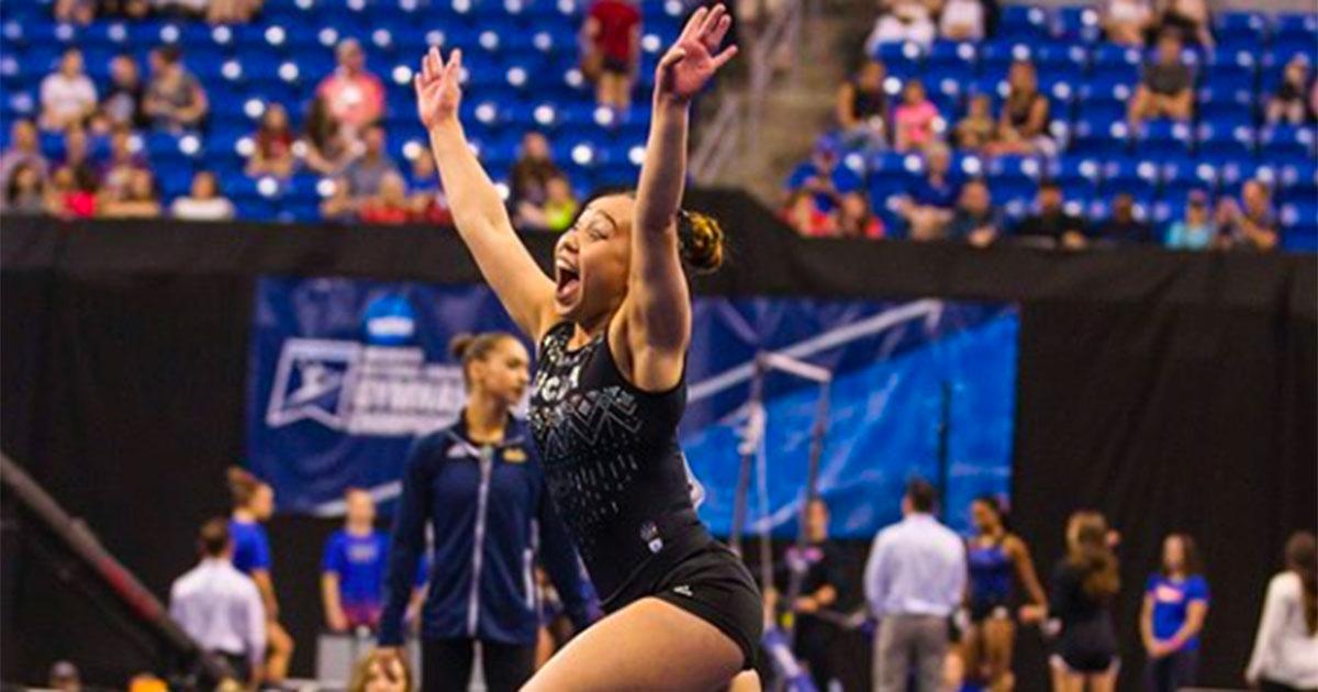 Katelyn Ohashi: l'ex super-ginnasta americana si è spogliata