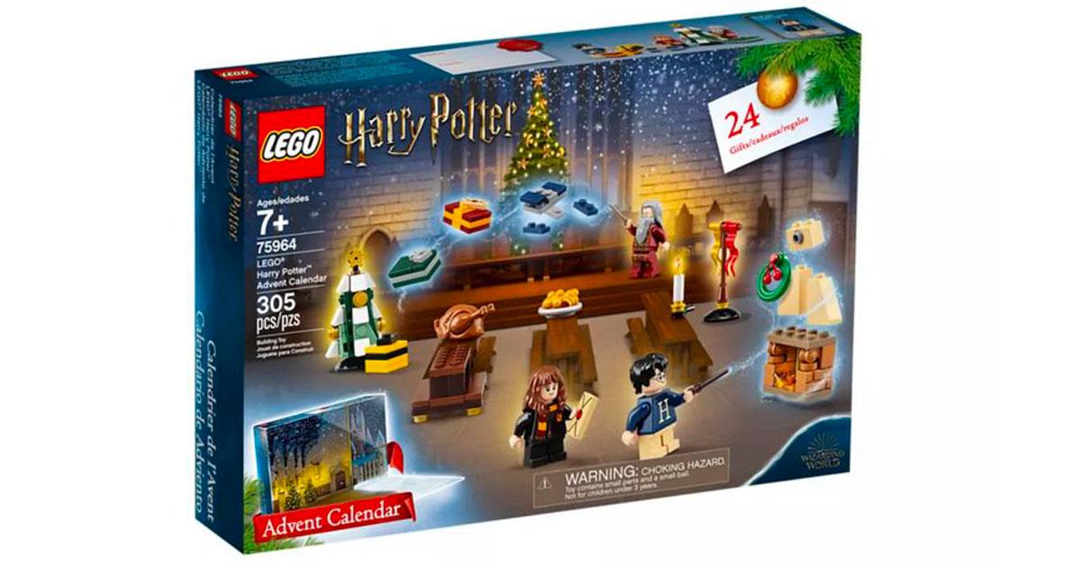 Natale, arriva il calendario dell'avvento di Harry Potter della Lego