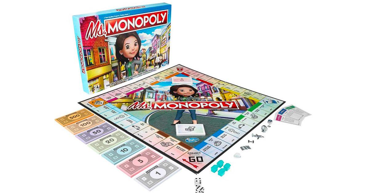 Miss Monopoly: arriva il gioco che celebra le grandi imprese delle donne