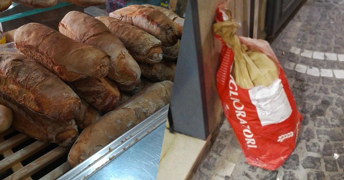 Ogni sera questo panificio regala il pane alle persone più bisognose
