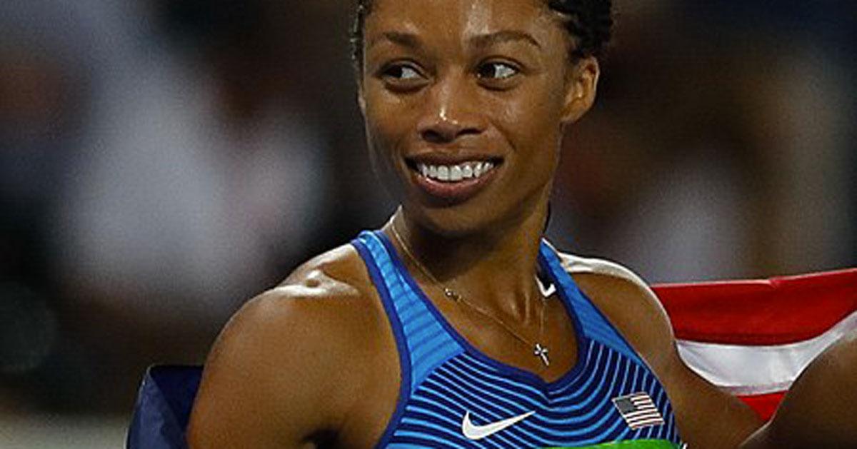 Nuovo oro per la neomamma Allyson Felix: ha battuto il record di Usain Bolt