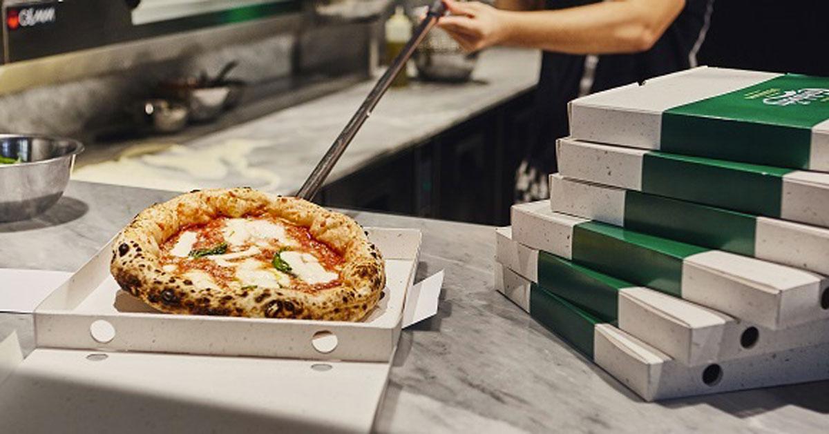 Hanno inventato il cartone per la pizza fatto con gli scarti della birra e che va nell'umido