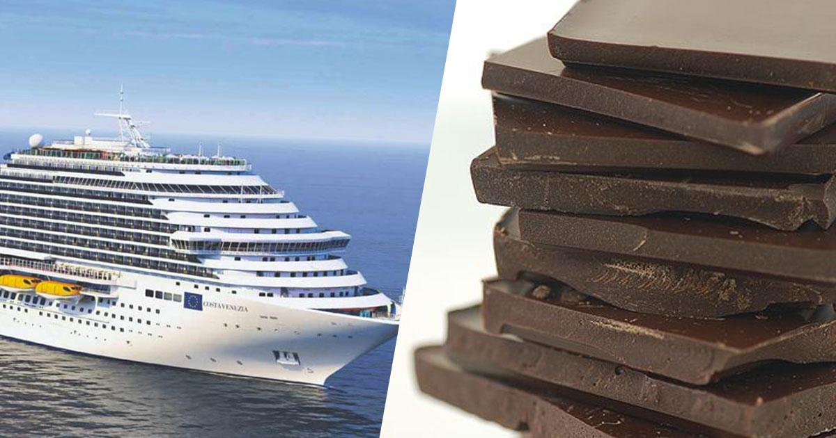 Arriva la prima crociera interamente dedicata al cioccolato