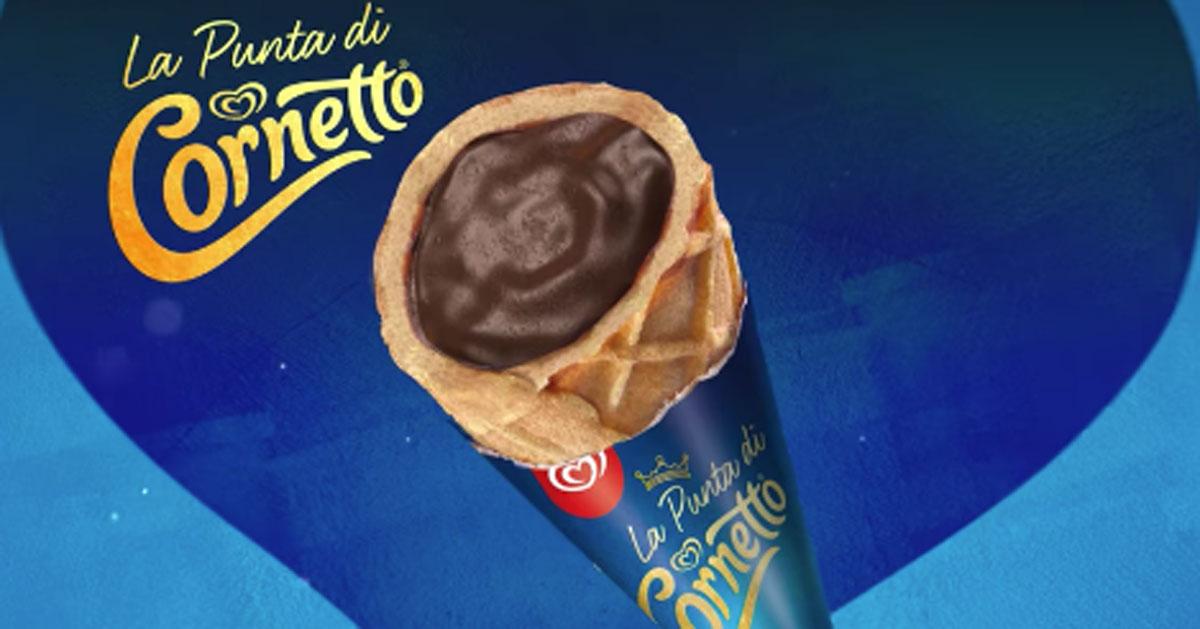 """La """"Punta di Cornetto"""" diventa uno snack per tutte le stagioni"""
