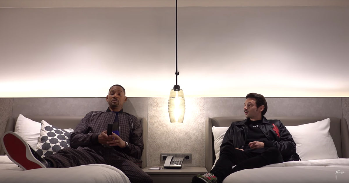 Fabio Rovazzi ha passato una notte insieme a Will Smith: ecco il video