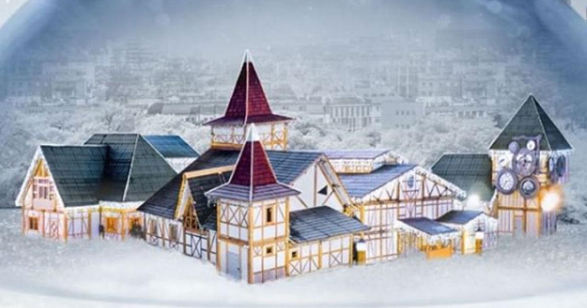 Arriva in Italia il più grande villaggio di Babbo Natale