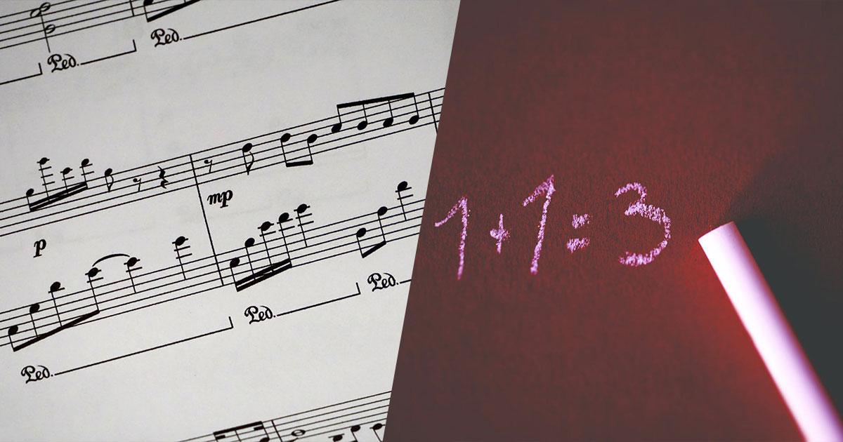 Studiare musica aiuta i bambini a capire meglio la matematica