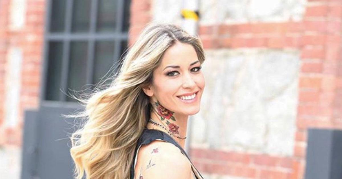 Elena Santarelli: bellissima anche senza trucco