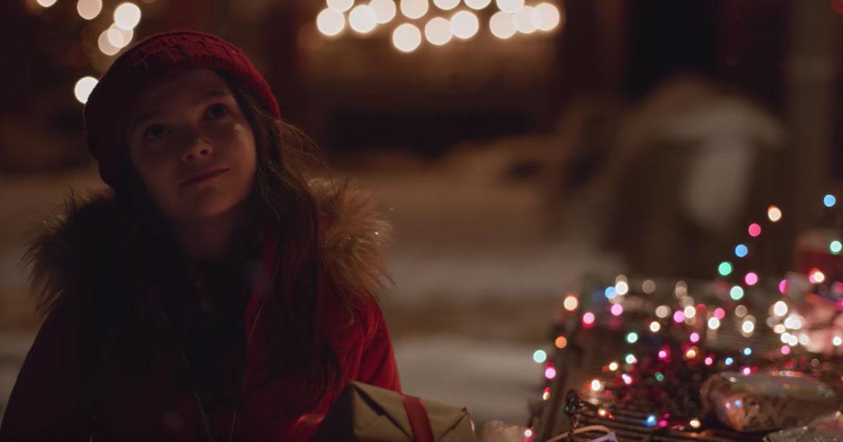 La bambina che voleva diventare Babbo Natale: questo spot vi commuoverà