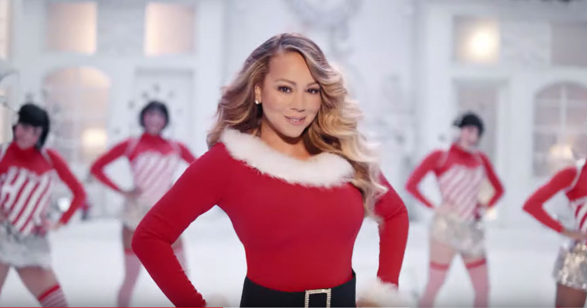 "Mariah Carey: ecco il nuovo video di ""All I Want For Christmas Is You"""
