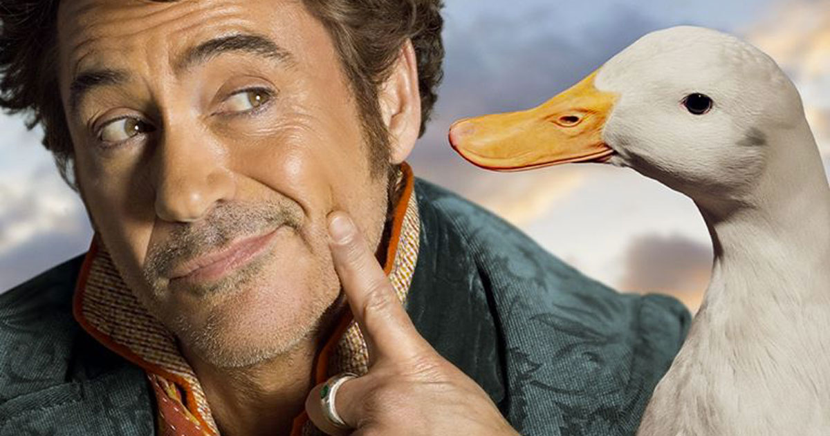 Robert Downey Jr. parla con gli animali nel nuovo film 'Dolittle'