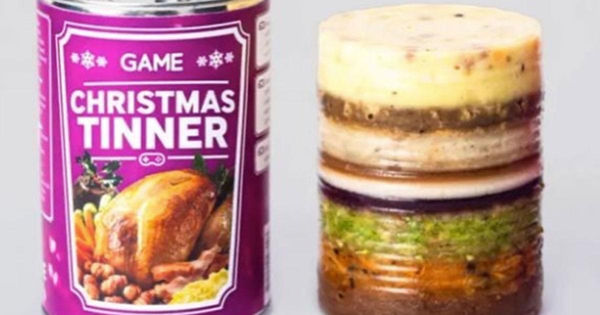 Christmas Tinner, tutto il pranzo di Natale in una scatola