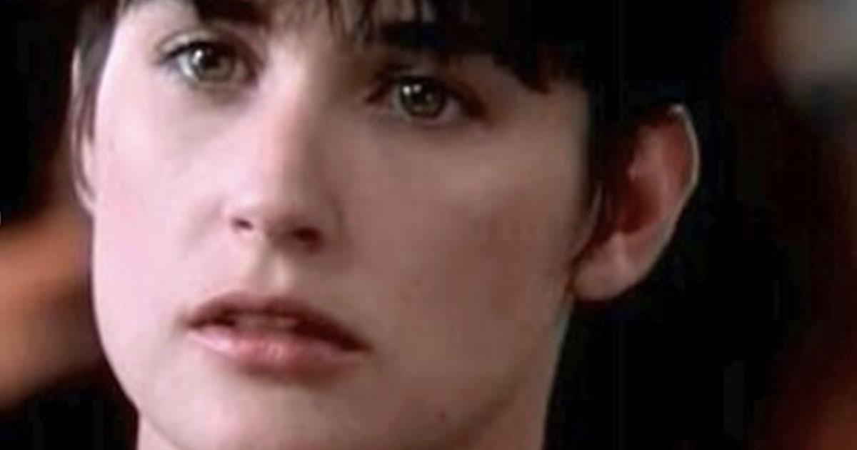 La figlia di Demi Moore taglia i capelli e diventa identica alla mamma in 'Ghost'