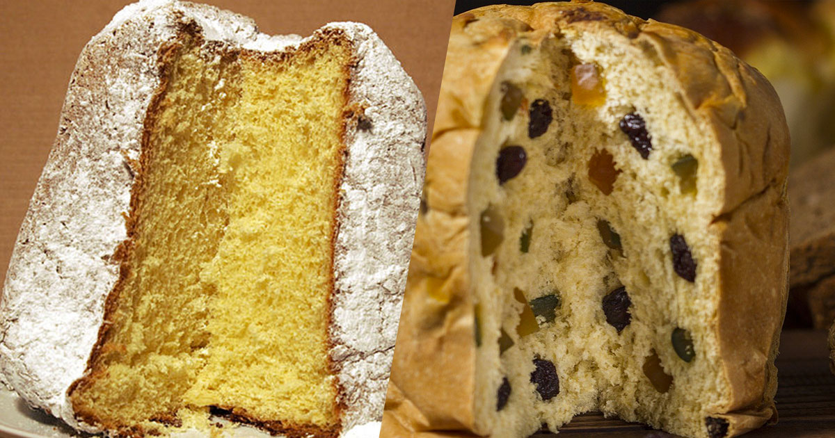 Pandoro o panettone: quale è il più calorico dolce di Natale?
