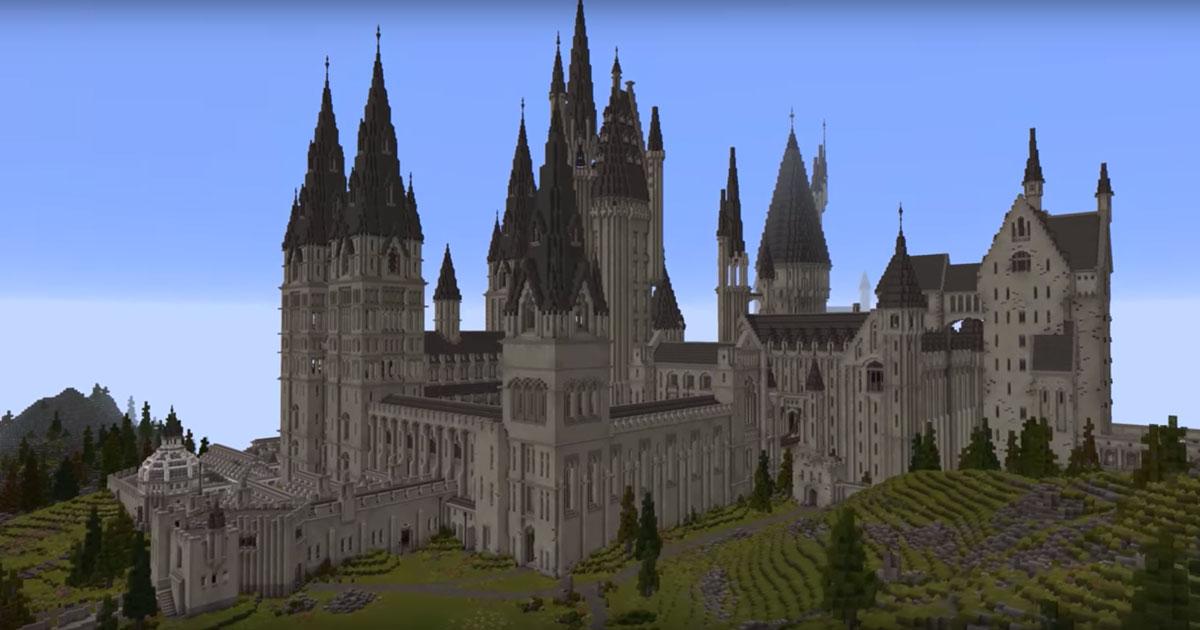 Harry Potter: hanno ricostruito i luoghi più famosi della saga su Minecraft