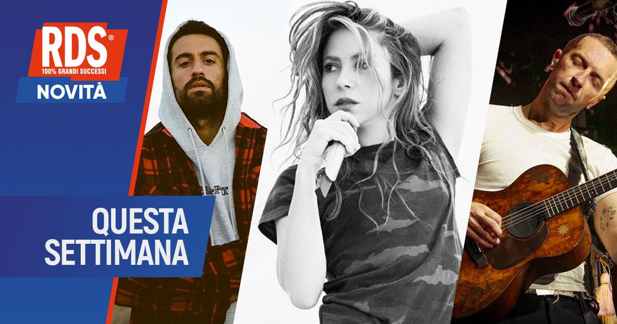 Dotan, Shakira e i Coldplay: le novità on air questa settimana