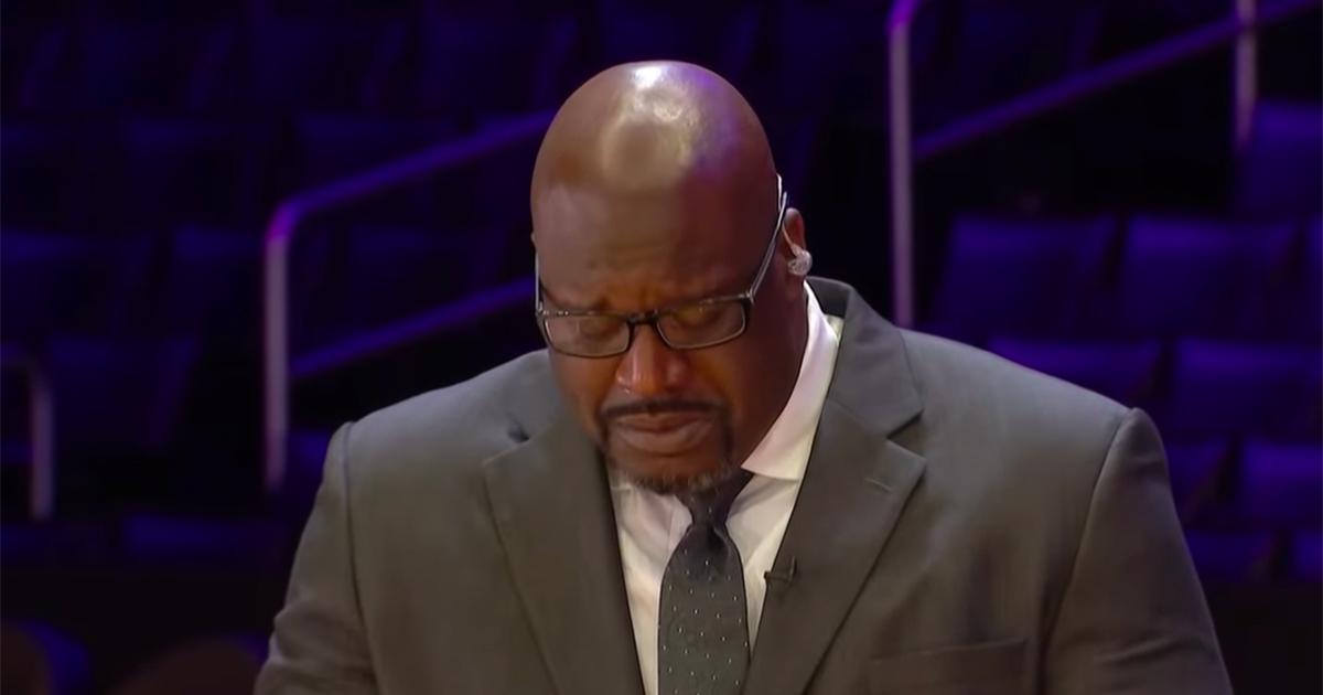 Shaquille O'Neal: il pianto del gigante del basket mentre ricordava Kobe Bryant