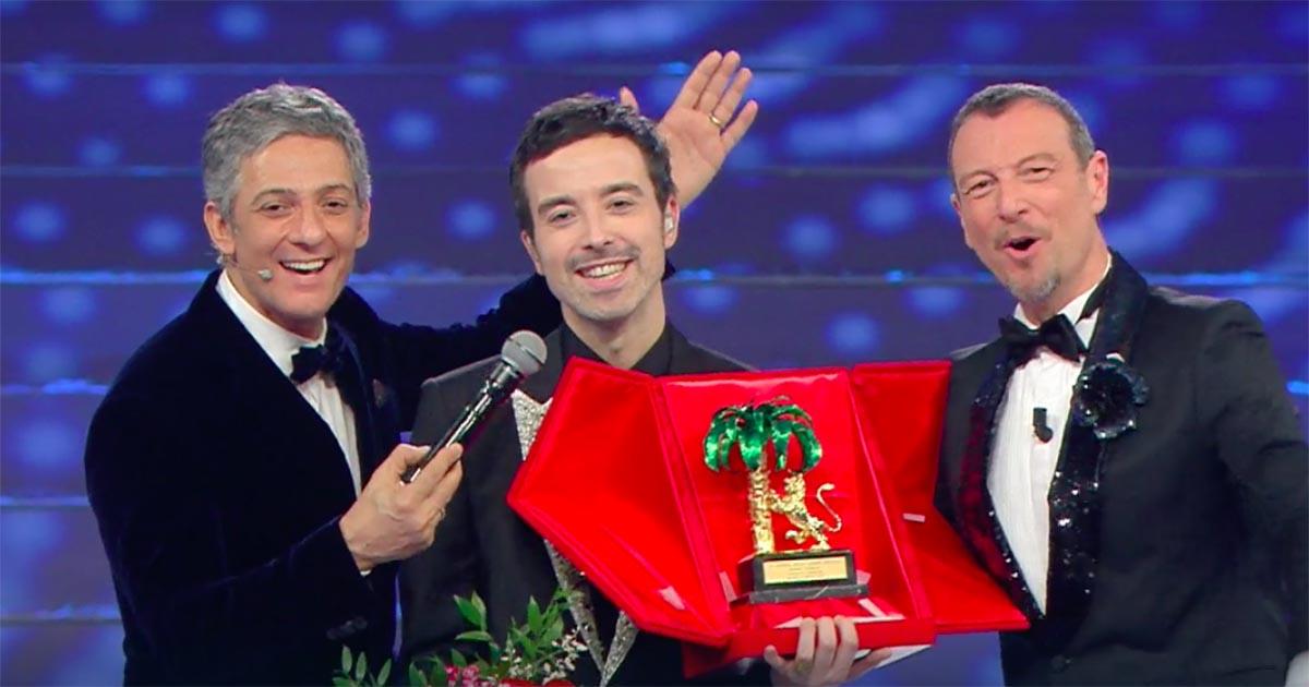 """Sanremo 2020: Diodato vince il festival con """"Fai rumore"""""""