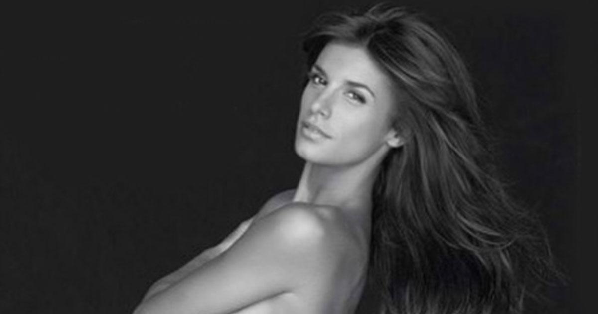 Elisabetta Canalis: la foto di nudo contro le pellicce torna su Instagram
