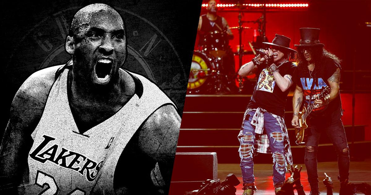 "I Guns N' Roses hanno suonato ""Knockin' on Heaven's Door"" in onore di Kobe Bryant"
