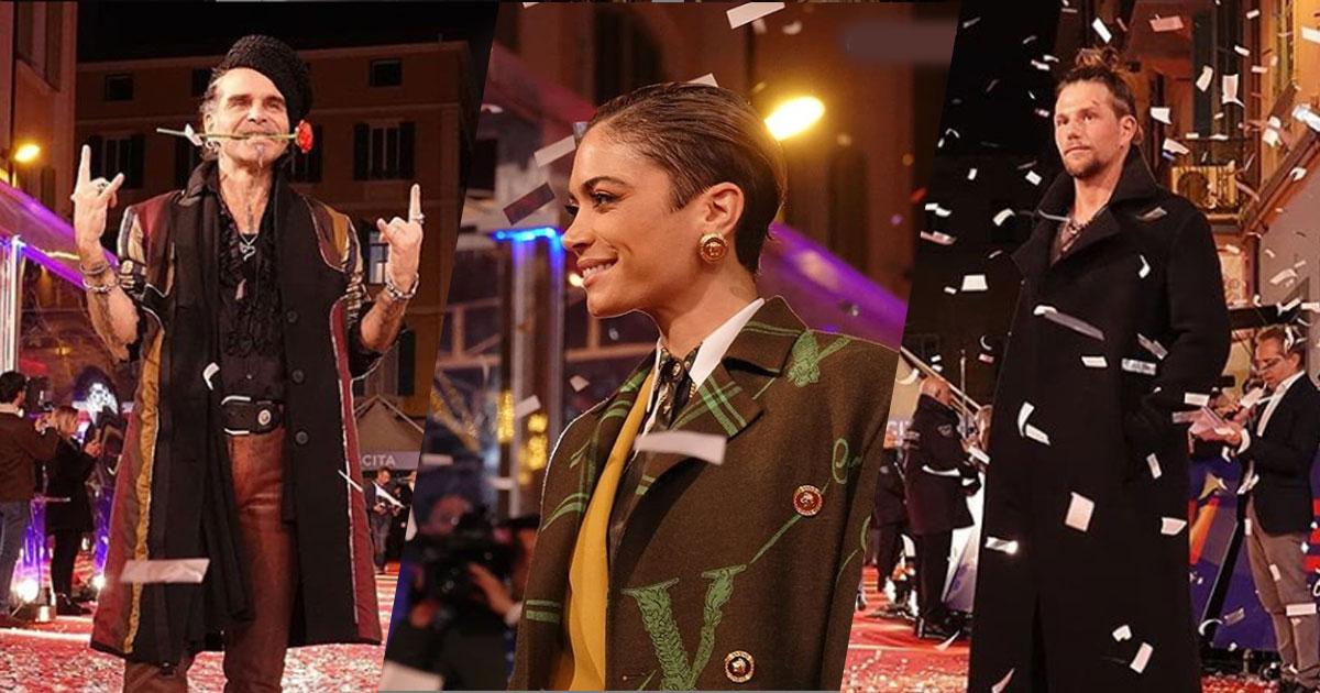 Sanremo 2020: le foto del primo red carpet con tutti i concorrenti in gara