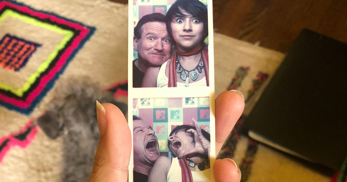 Robin Williams: la figlia Zelda ritrova delle sue vecchie foto, sono bellissime