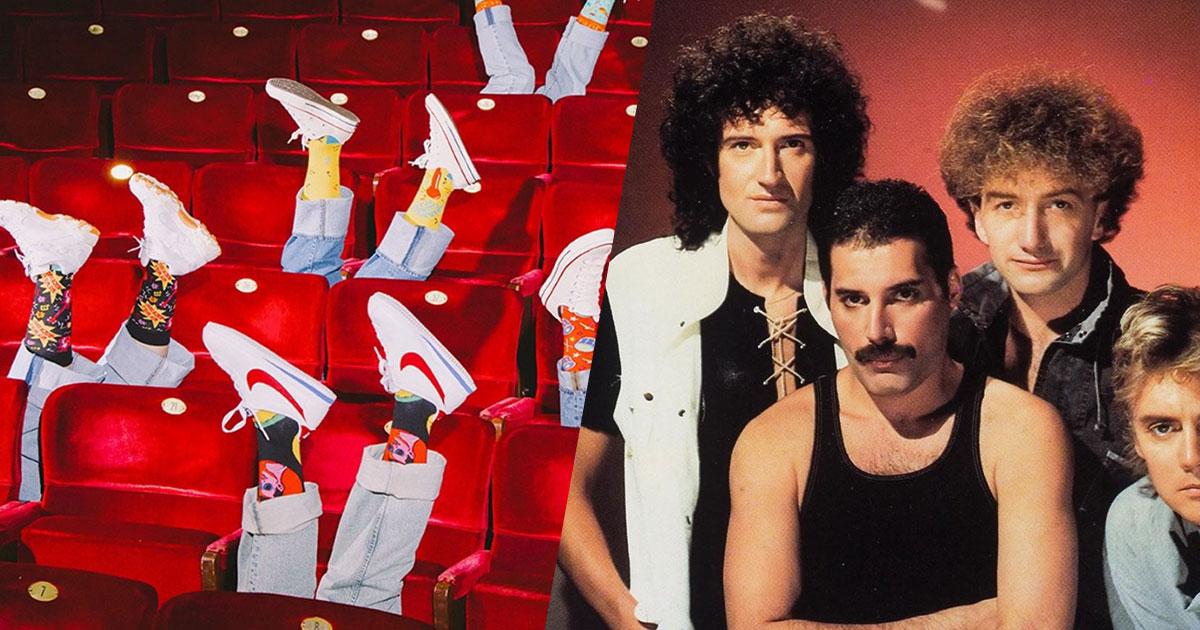 I Queen e la moda: ecco gli originali calzini con i volti della band
