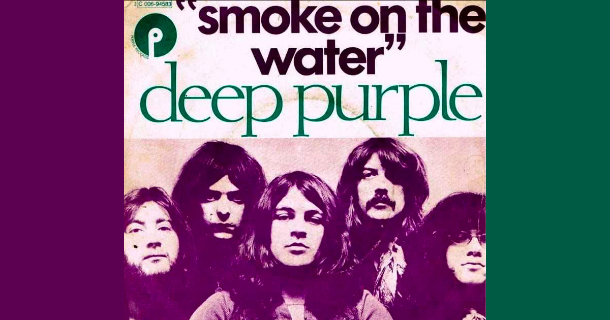 'Smoke on the Water': compie gli anni il capolavoro dei Deep Purple