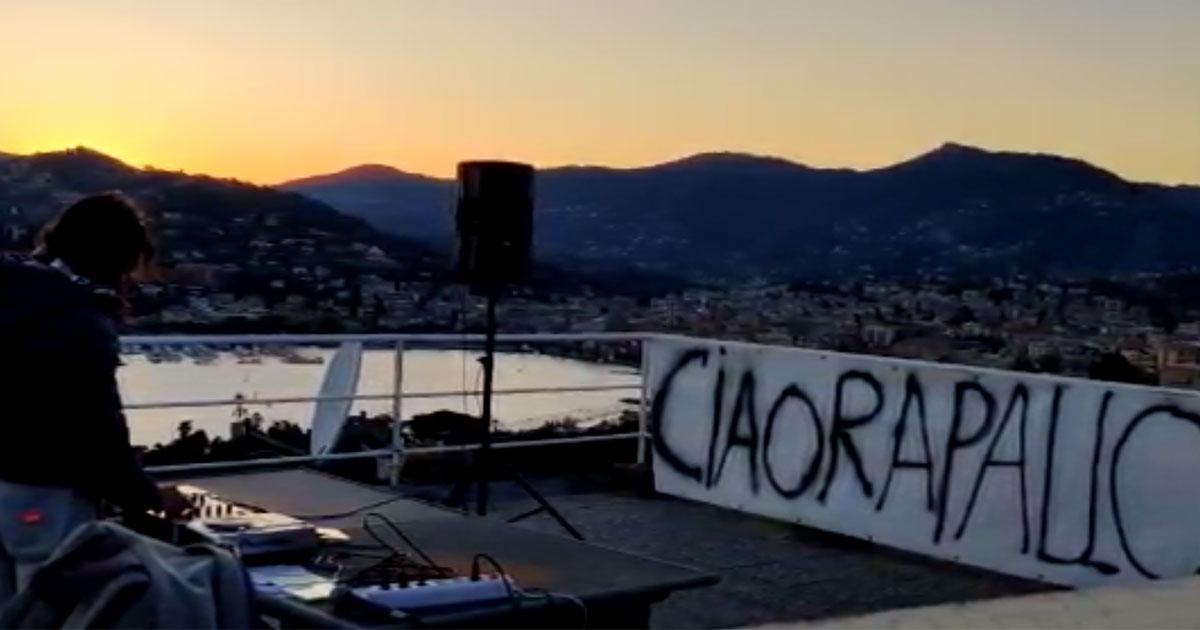 Rapallo, il dj diffonde musica dalla terrazza di casa: 'Ci sentiamo vivi'