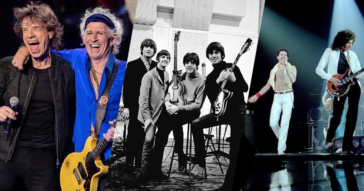 Ecco quale è la più grande rock band al mondo secondo uno studio americano