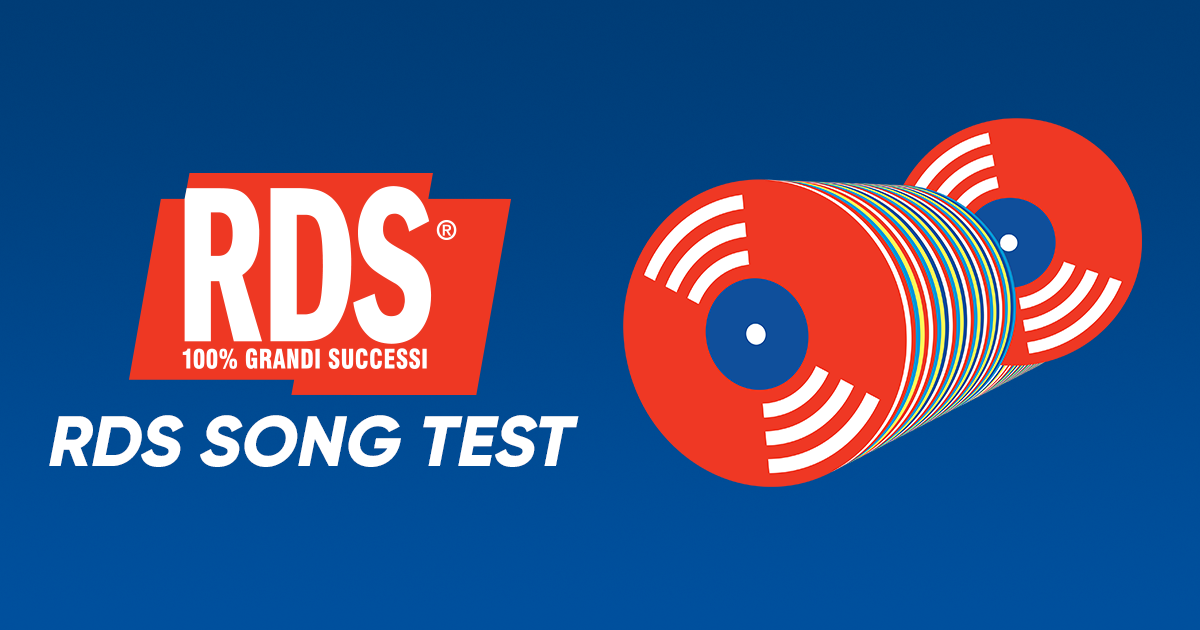 RDS Song Test: vota la playlist RDS