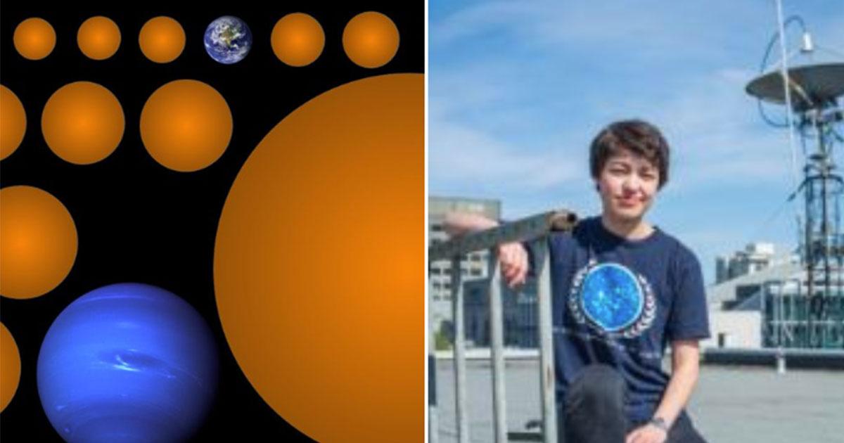 Studentessa scopre 17 nuovi mondi: uno è potenzialmente abitabile