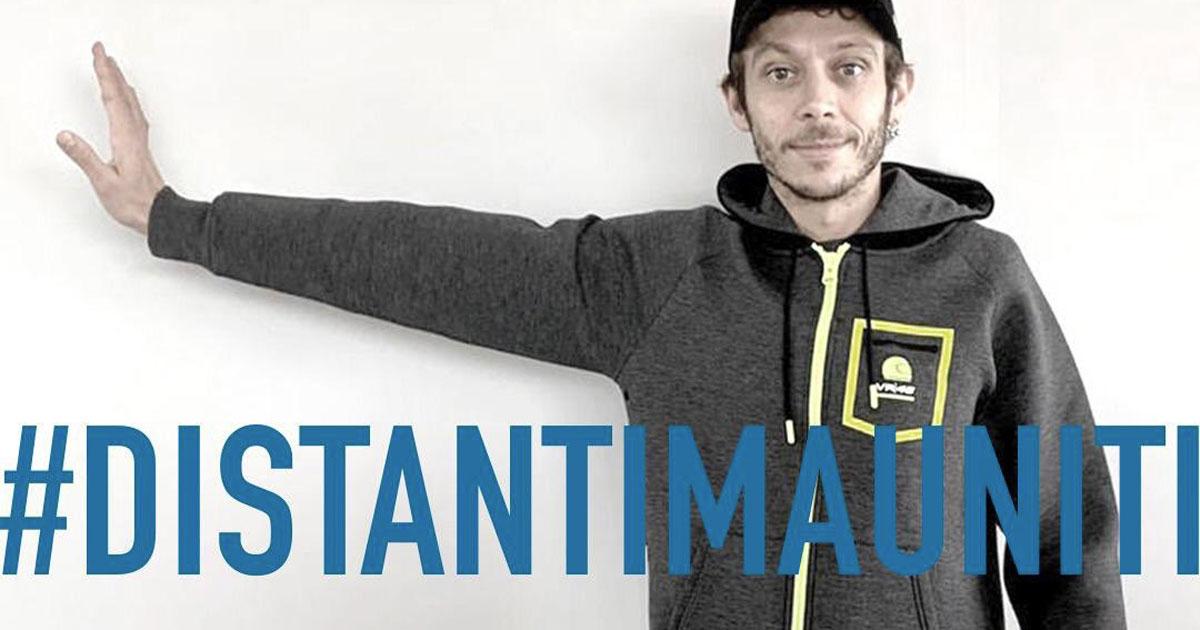 Da Bebe Vio a Valentino Rossi: il mondo dello sport lancia l'hashtag #distantimauniti