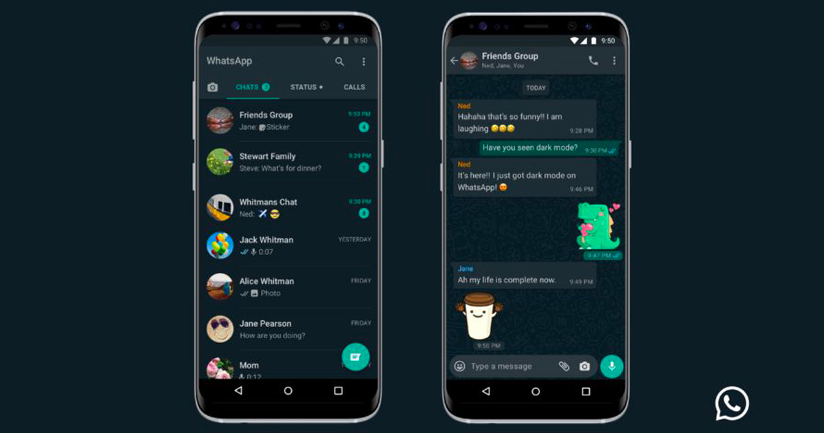 WhatsApp: la modalità dark mode è finalmente realtà!