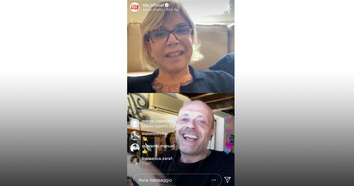 #RDSacasatua: Anna intervista Max Pezzali in diretta Instagram su RDS