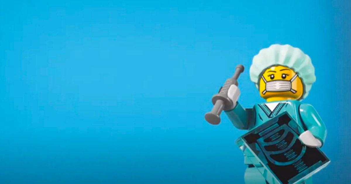 Coronavirus: Lego produrrà 13.000 visiere protettive al giorno da donare ai medici