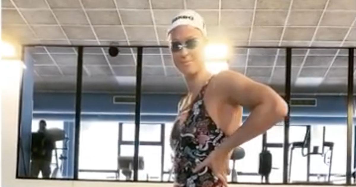 Federica Pellegrini torna ad allenarsi: il video del suo primo tuffo