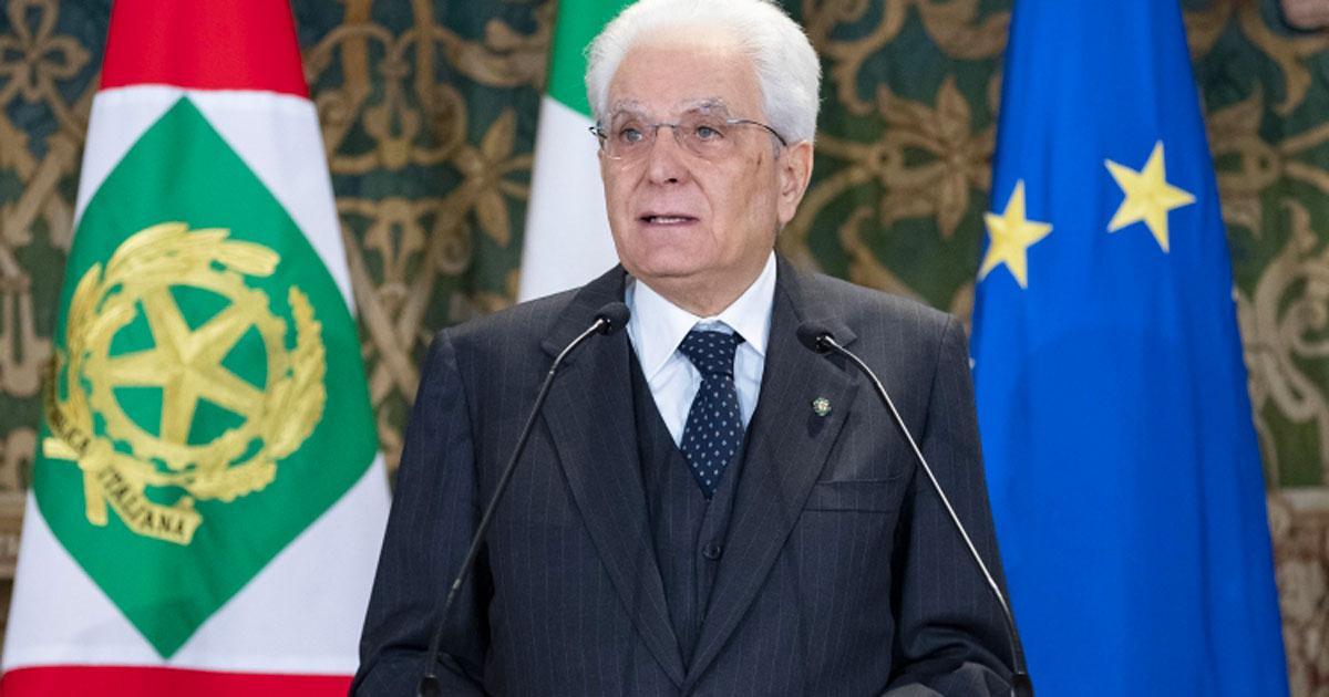"""Il presidente Mattarella: """"abbiamo superato i passaggi critici, ora progettiamo una ripartenza"""""""