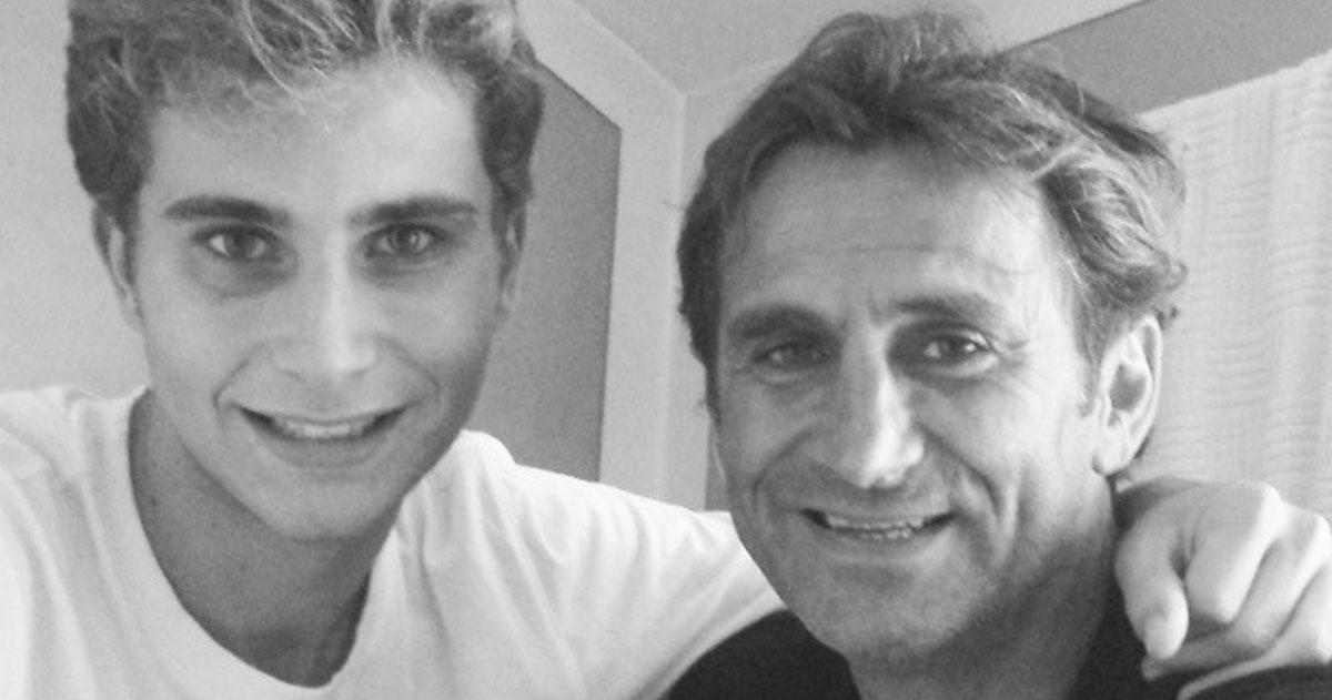 """Il commovente post del figlio di Alex Zanardi: """"Dai papà, anche oggi un piccolo passo avanti"""""""