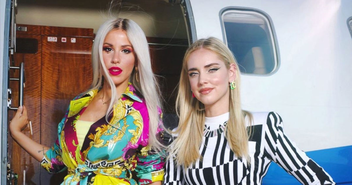 """""""Non mi basta più"""", il nuovo singolo di Baby K con Chiara Ferragni"""