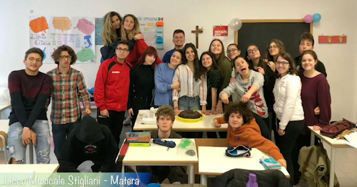'No(t)te prima degli esami': il video del liceo di Matera riceve i complimenti anche dalla ministra Azzolina