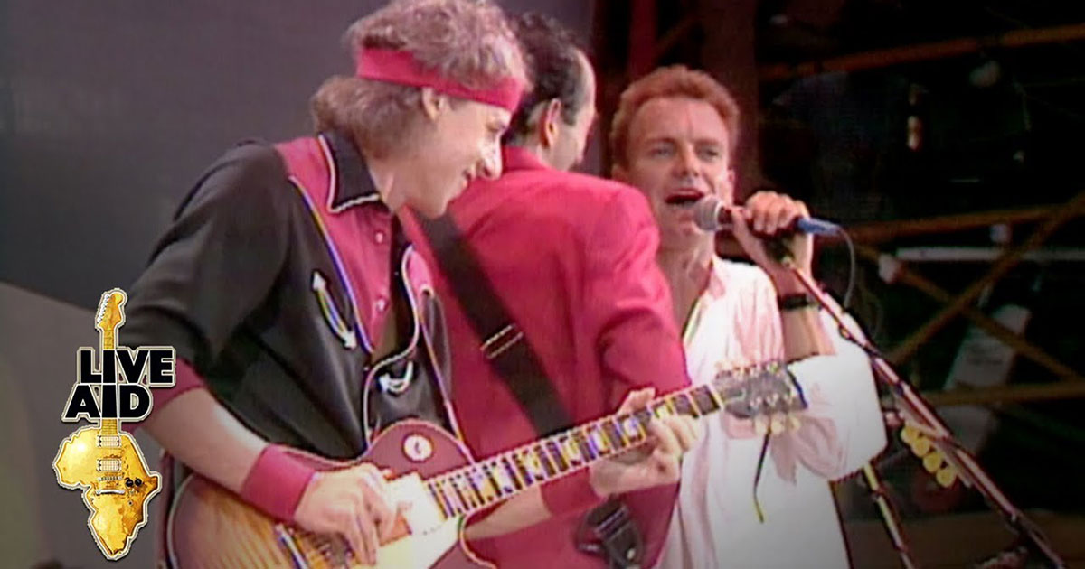 'Money for Nothing': il capolavoro dei Dire Straits (scritto con Sting) compie 35 anni