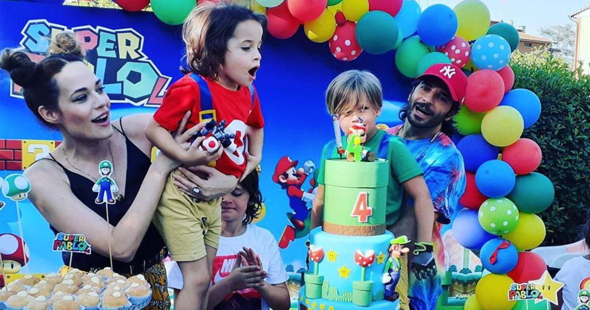 Laura Chiatti e Marco Bocci compleanno speciale per i 4 anni di 'Super Pablo'