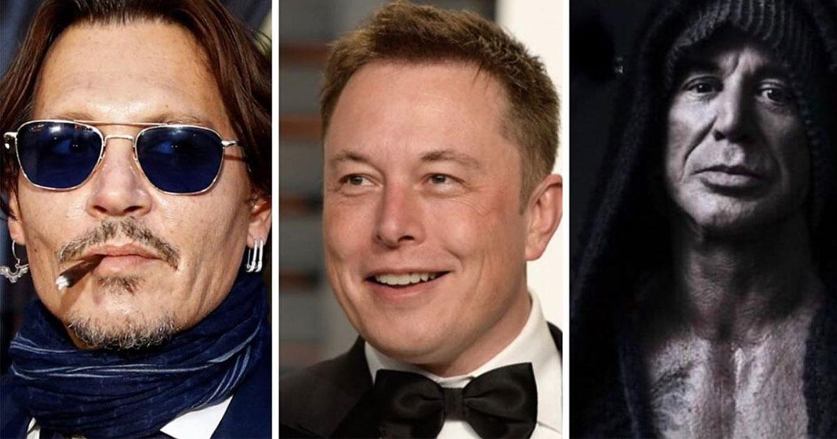 Mickey Rourke risponde alla sfida di Elon Musk contro Johnny Depp