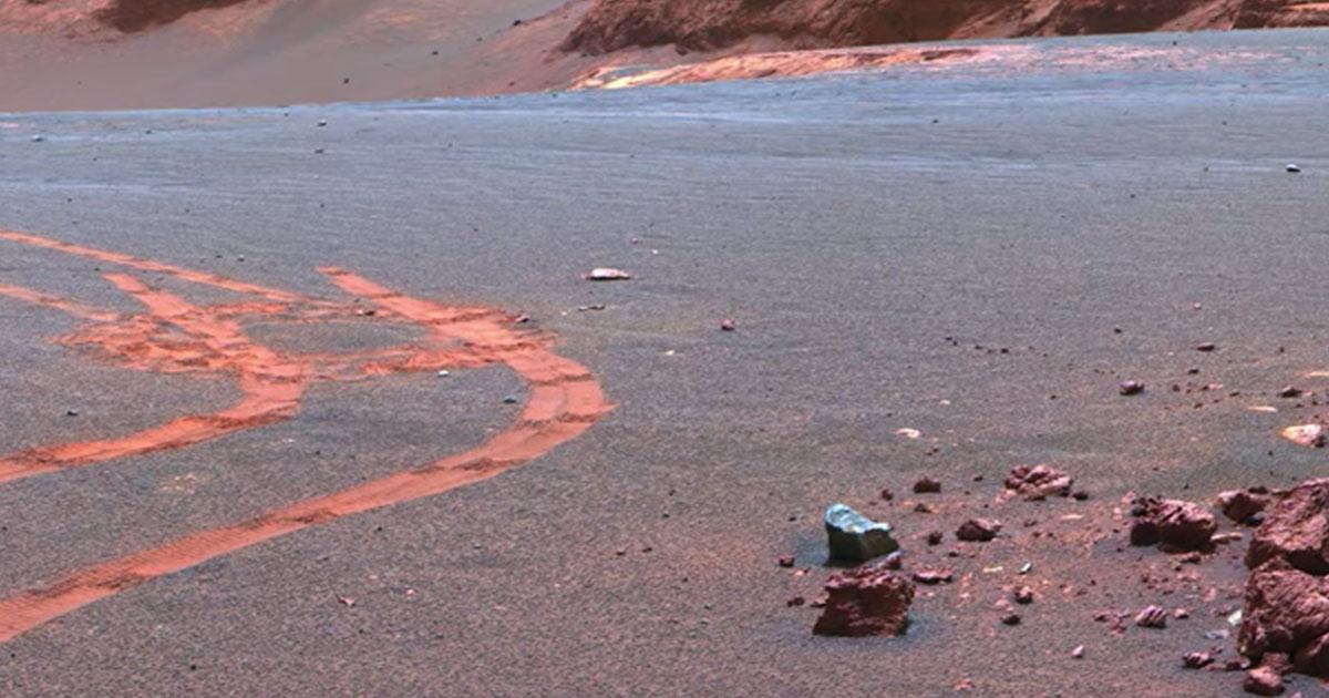 L'affascinante filmato in 4K del suolo marziano