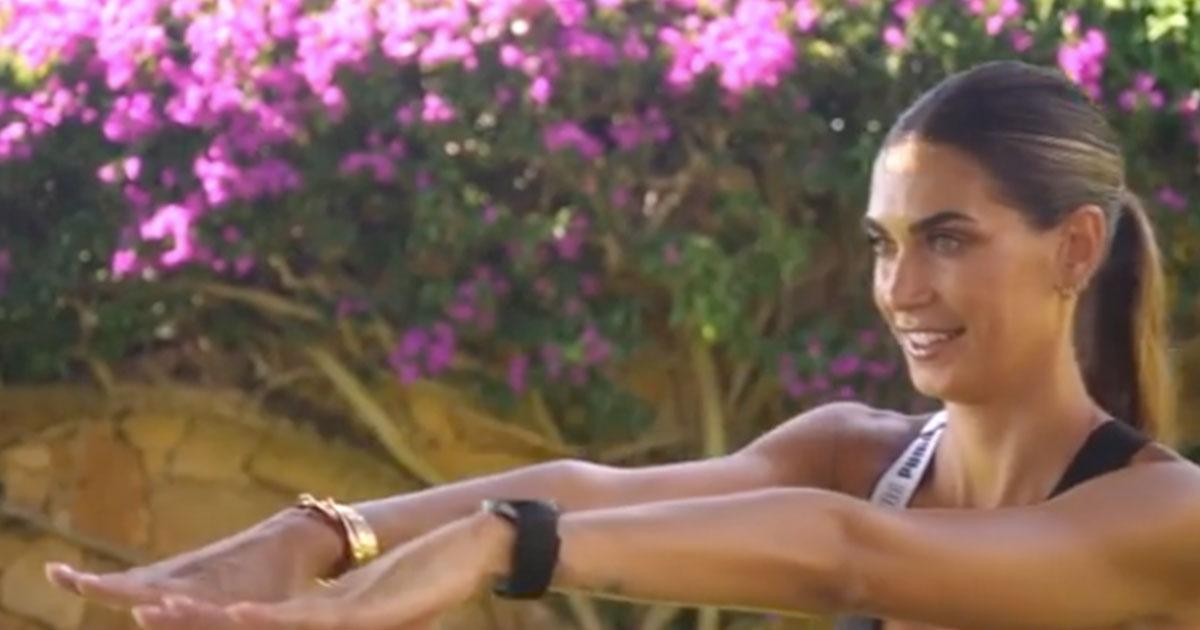 Come avere un fisico tonico: l'allenamento di Melissa Satta è il top