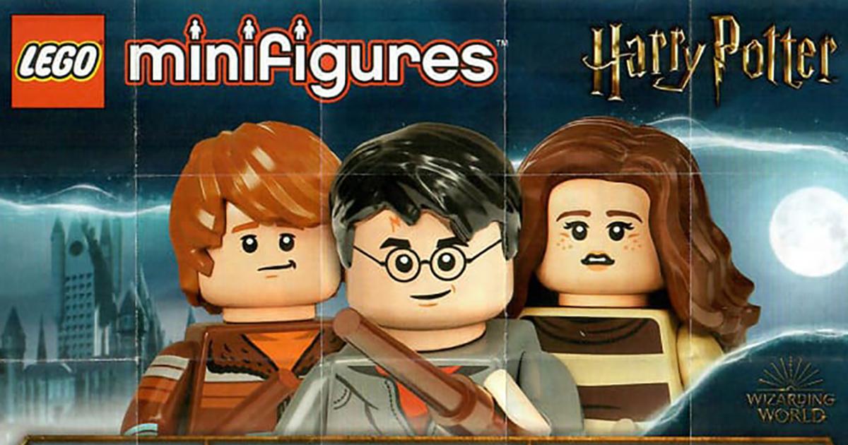 Le Minifigure Harry Potter sono già in vendita, ma ancora non in Italia